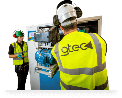 GTEC air compressor maintenance